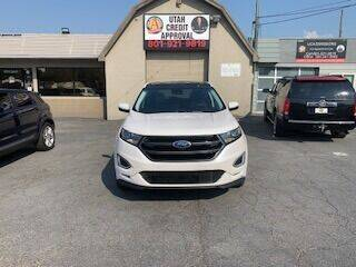 2018 Ford Edge for sale at Utah Credit Approval Auto Sales in Murray UT