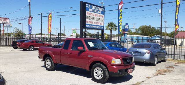 2008 Ford Ranger for sale at S.A. BROADWAY MOTORS INC in San Antonio TX