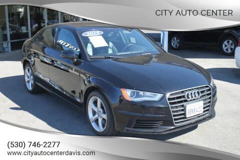 2015 Audi A3 for sale at City Auto Center in Davis CA