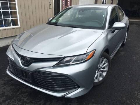 2018 Toyota Camry for sale at Dijie Auto Sale and Service Co. in Johnston RI