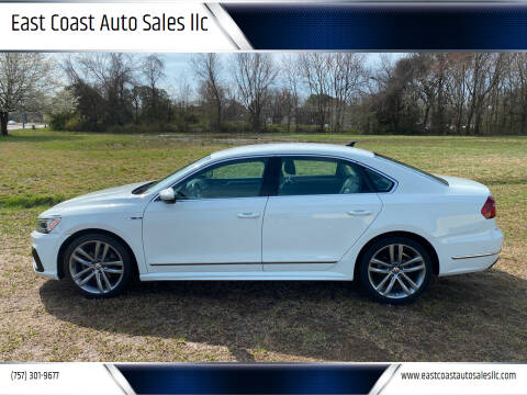 2017 Volkswagen Passat for sale at East Coast Auto Sales llc in Virginia Beach VA