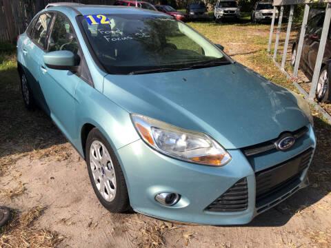 2012 Ford Focus for sale at Castagna Auto Sales LLC in Saint Augustine FL