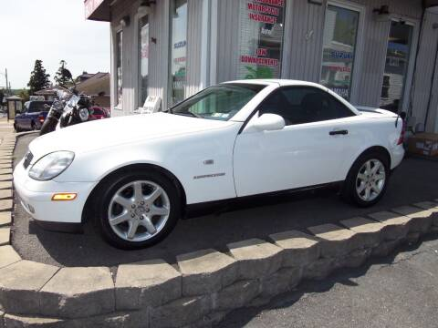 1999 Mercedes-Benz SLK for sale at Fulmer Auto Cycle Sales - Fulmer Auto Sales in Easton PA