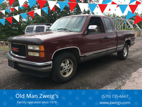 1994 GMC Sierra 2500 for sale at Old Man Zweig's in Plymouth Township PA