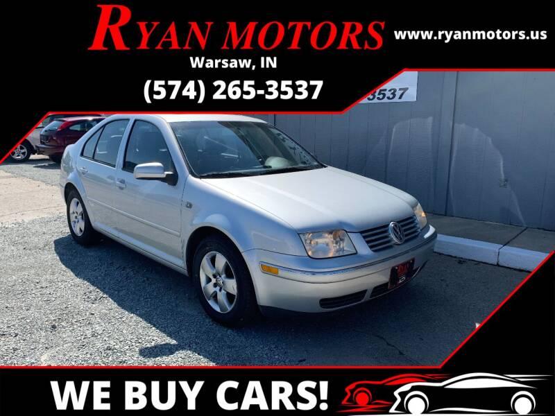 2005 Volkswagen Jetta for sale at Ryan Motors LLC in Warsaw IN