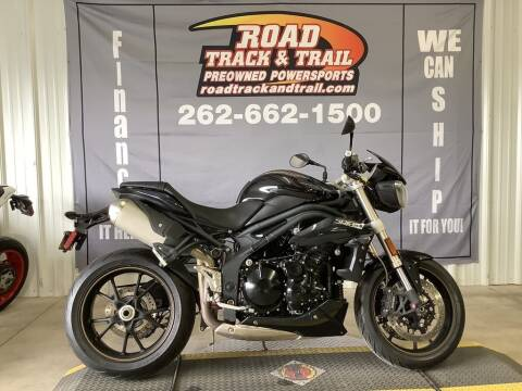 2014 Triumph Speed Triple ABS for sale at Road Track and Trail in Big Bend WI