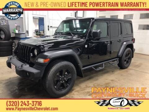2019 Jeep Wrangler Unlimited for sale at Paynesville Chevrolet - Buick in Paynesville MN