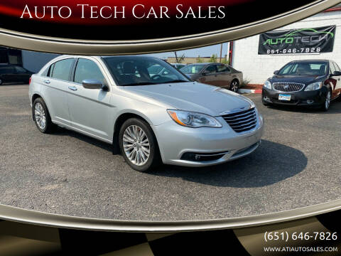 2012 Chrysler 200 for sale at Auto Tech Car Sales in Saint Paul MN