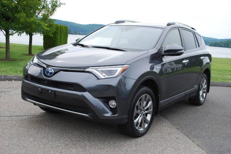 2017 Toyota RAV4 Hybrid for sale at New Milford Motors in New Milford CT
