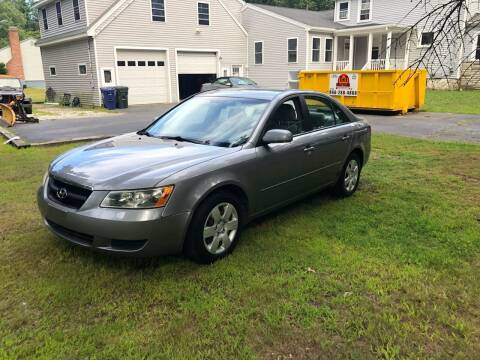 2007 Hyundai Sonata for sale at Billycars in Wilmington MA