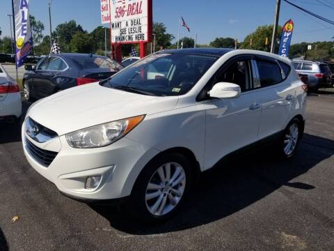 2011 Hyundai Tucson for sale at 1st Choice Auto Sales in Newport News VA