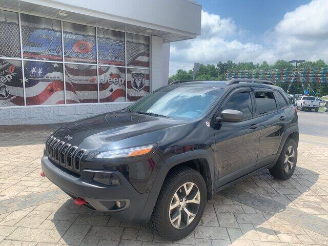 2015 Jeep Cherokee for sale at Tim Short Auto Mall in Corbin KY