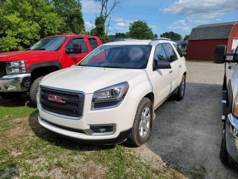 2014 GMC Acadia for sale at Clare Auto Sales, Inc. in Clare MI