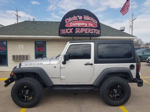 2012 Jeep Wrangler for sale at DICK'S MOTOR CO INC in Grand Island NE