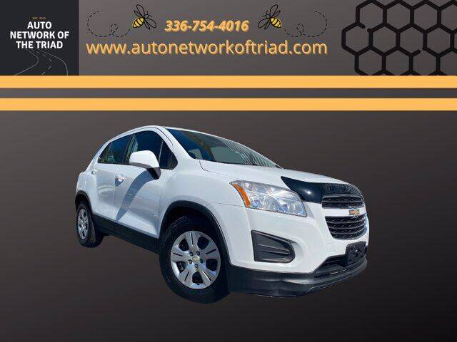 2016 Chevrolet Trax for sale at Auto Network of the Triad in Walkertown NC