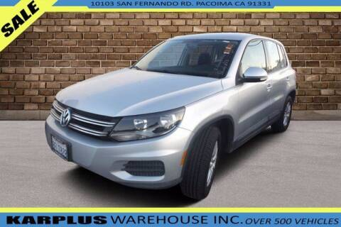 2014 Volkswagen Tiguan for sale at Karplus Warehouse in Pacoima CA