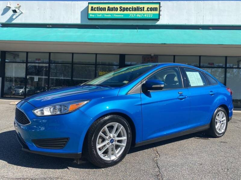 2016 Ford Focus for sale at Action Auto Specialist in Norfolk VA
