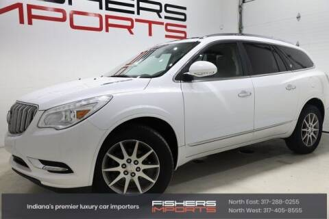 2017 Buick Enclave for sale at Fishers Imports in Fishers IN
