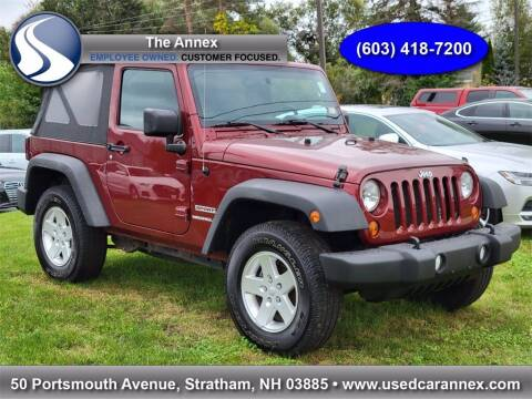 2010 Jeep Wrangler for sale at The Annex in Stratham NH