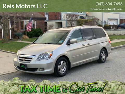 2005 Honda Odyssey for sale at Reis Motors LLC in Lawrence NY