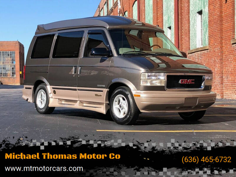 1999 GMC Safari for sale at Michael Thomas Motor Co in Saint Charles MO
