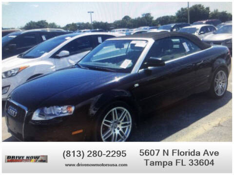 2009 Audi A4 for sale at Drive Now Motors USA in Tampa FL