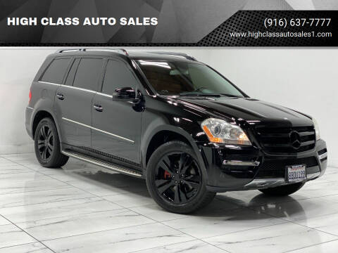 2012 Mercedes-Benz GL-Class for sale at HIGH CLASS AUTO SALES in Rancho Cordova CA