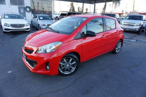 2012 Toyota Yaris for sale at Industry Motors in Sacramento CA