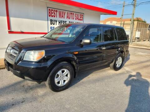 2006 Honda Pilot for sale at Best Way Auto Sales II in Houston TX