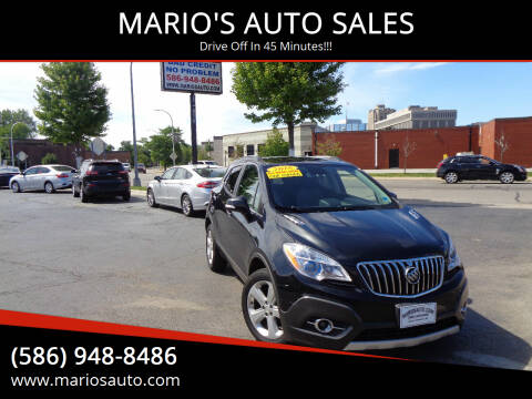2015 Buick Encore for sale at MARIO'S AUTO SALES in Mount Clemens MI
