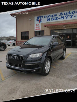 2011 Audi Q7 for sale at TEXAS AUTOMOBILE in Houston TX