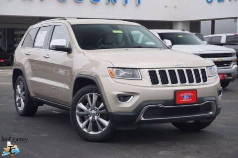 2014 Jeep Grand Cherokee for sale at TRI-COUNTY FORD in Mabank TX