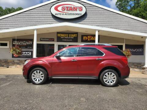 2011 Chevrolet Equinox for sale at Stans Auto Sales in Wayland MI