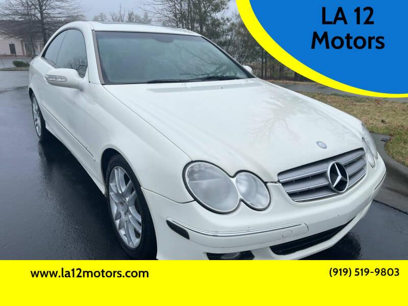 2008 Mercedes-Benz CLK for sale at LA 12 Motors in Durham NC