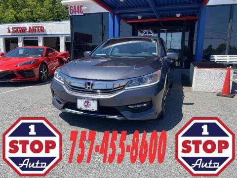 2017 Honda Accord for sale at 1 Stop Auto in Norfolk VA