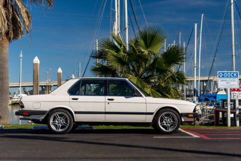 1985 BMW 5 Series for sale at AC MOTORCARS LLC in Houston TX