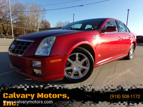2008 Cadillac STS for sale at Calvary Motors, Inc. in Bixby OK