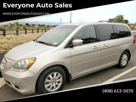 2008 Honda Odyssey for sale at Everyone Auto Sales in Santa Clara CA