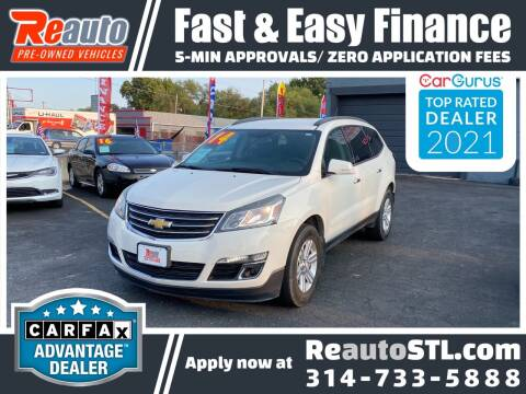 2014 Chevrolet Traverse for sale at Reauto in Saint Louis MO