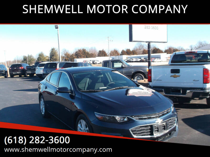 2017 Chevrolet Malibu for sale at SHEMWELL MOTOR COMPANY in Red Bud IL