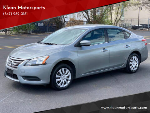 2014 Nissan Sentra for sale at Klean Motorsports in Skokie IL