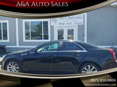 2008 Cadillac CTS for sale at A&A Auto Sales in Orem UT