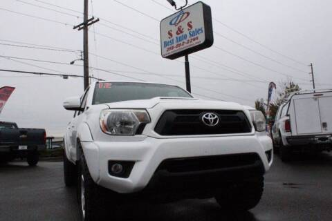 2012 Toyota Tacoma for sale at S&S Best Auto Sales LLC in Auburn WA