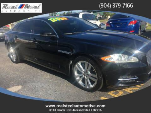 2011 Jaguar XJL for sale at Real Steel Automotive in Jacksonville FL