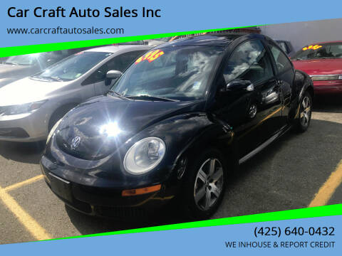 2006 Volkswagen New Beetle for sale at Car Craft Auto Sales Inc in Lynnwood WA