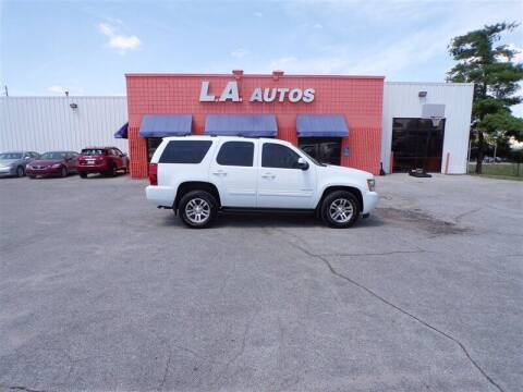 2012 Chevrolet Tahoe for sale at L A AUTOS in Omaha NE