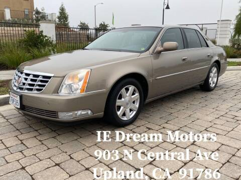 2007 Cadillac DTS for sale at IE Dream Motors-Upland in Upland CA