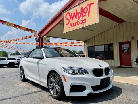 2015 BMW 2 Series for sale at Sandlot Autos in Tyler TX