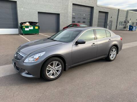 2011 Infiniti G25 Sedan for sale at The Car Buying Center in St Louis Park MN
