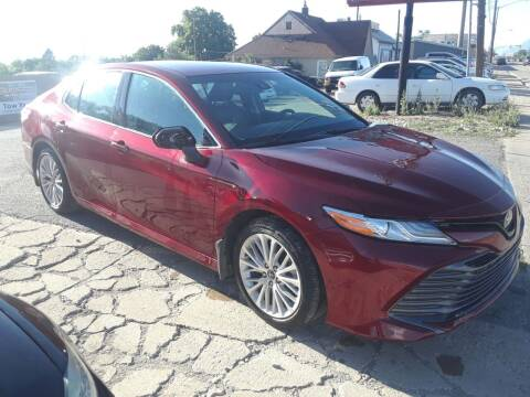2018 Toyota Camry for sale at Sunset Auto Body in Sunset UT